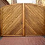 Распашные ворота (1)