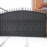 Распашные ворота (2)