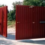 Распашные ворота (6)