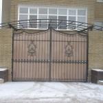 Распашные ворота (9)